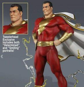Shazam Super Powers Maquette Statue Exclusive Edition Tweeterhead FREE SHIPPING