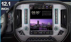 For Chevrolet Silverado /GMC Sierra 12'' Android 9.0 Tesla screen Car radio GPS
