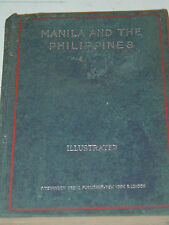Manila And The Philippines Margherita Arlina Hamm 1898 Edition HB Good Condition