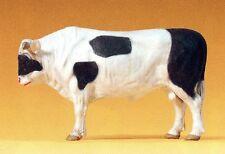 toro de pie marrón Preiser Elastolin 47001 Escala 1:25 Figura Colección Caja