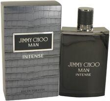 Man Intense Cologne by Jimmy Choo Men Perfume Eau De Toilette Spray 1.7 oz 50 ml