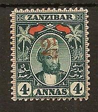ZANZIBAR 1897 2½ ON 4a SG175 MINT
