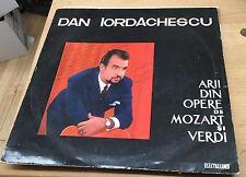 Dan Iordăchescu Arii Din Opere De Mozart Și Verdi Electrecord ECE 0334 Signed!!