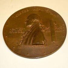 Antique Bronze George Washington Memorial Medal by Augustus St. Gaudems