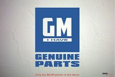 GMC- I Have Genuine Parts - decal sticker - Chevy Corvette Camaro Truck Racing