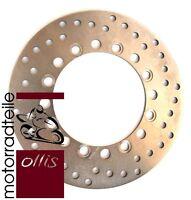 EBC rear brake rotor / disk / disc - Kawasaki KMX 125 - MX125A - stainless steel