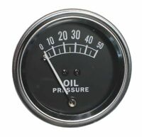 9N9273A Oil Pressure Gauge for 8N 9N 2N Ford Tractors (50lb)