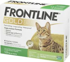 Frontline Gold Flea & Tick Treatment for Cats - Single Dose