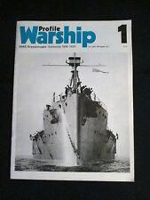 PROFILE WARSHIP N°1 WW1 MARINE DE GUERRE LE CUIRASSE HMS DREADNOUGHT 1906/1920