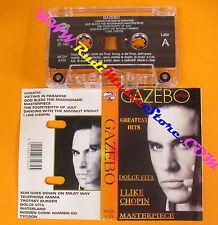 MC GAZEBO Greatest hits 1997 italy DV MORE RECORD MCDV 6103 no cd lp vhs dvd