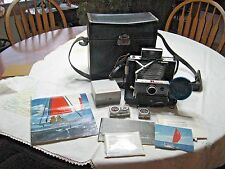 Polaroid Automatic 100 Land Camera with Accessories in Excellent Condition, Case