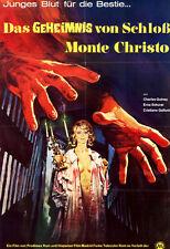 Das Geheimnis von Schloss Monte Christo ORIGINAL A1 Kinoplakat Charles Quiney