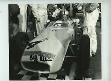 Cliff Allison (1932-2005) Lotus 18 Snetterton 1961 Signed Photograph