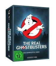 THE REAL GHOSTBUSTERS - KOMPLETTE SERIE  21 DVD NEU