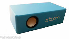 BLUE INDUCTION SPEAKER PORTABLE WIRELESS SPEAKER FOR DEVICES WITH A SPEAKER