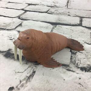 Papo Walrus Figure Detailed Heavy Vinyl Wildlife Animal Replica Collectible 2014