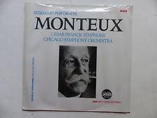 MONTEUX Cesar Franck symphony Chicago Symphony orchestra DMM RCA GL85261 S/S!!