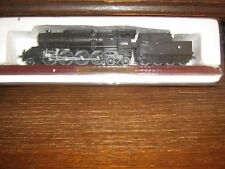 A STATIC DIE-CAST MODEL OF THE OBB 214 CLASS STEAM TRAIN ON A PLINTH  Austrian