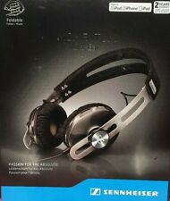 New&Sealed Sennheiser Momentum On Ear Black OEi M2 Wired Headphones iPhone