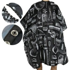 Fashion Soft Cutting Hair Capes Cloth Salon Barber Hairdressing Gown Waterproof