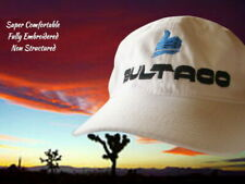 1 - Bultaco cap White Blue Thumbs up motorcycle hat sweet