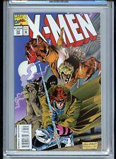 X-Men #33 CGC 9.8 White Pages 1994 Sabretooth Gambit