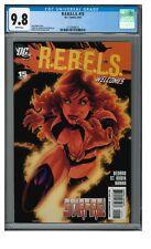 R.E.B.E.L.S. #15 (2010) Sexy Starfire Cover CGC 9.8 White Pages CE770