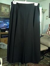 BRECKENRIDGE  WOMENS  sz 10   BLACK  FULL SWEEP  EVENING SKIRT   EXCELLENT COND.