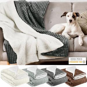 Kuscheldecke Wohndecke Tagesdecke Decke Fleecedecke Fleece Sofadecke XXL Sofa