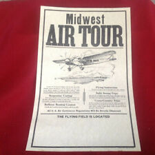 Midwest Air Tour Poster