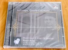 Anthologie Cavaillé-Coll - Hommage Schweitzer - Pascal Reber Orgue - CD IFO