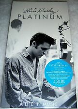 ♫ Platinum: A Life in Music by ELVIS PRESLEY (CD, Jul-1997, 4 Discs, RCA) SEALED