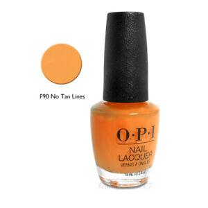 OPI Nail Polish F90 No Tan Lines 0.5oz