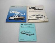 Ford Sierra XR4x4 Werkstatthandbuch Ergänzung + Anleitung Bremsanlage