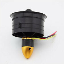 64mm Electric Ducted Fan Set 12 Blades Kit 3200KV EDF Motor For RC Jet Plane