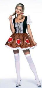 Heidi Ho Swiss Miss Costume, Leg Avenue 8897, Adult Women, Size M, L