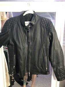Boda Skins Leather Jacket cafe quilted moto Punk Saint Laurent Balmain SLP