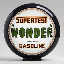 "Supertest Wonder 13.5"" Gas Pump Globe w/ Black Plastic Body (G247)"