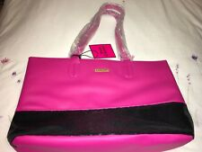 Juicy Couture Tote Bag with Black Sequin Panel