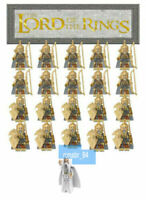 21PCS Lord Of The Rings Noldo Elf Sword Soldier Archer Building Blocks DIY Toys