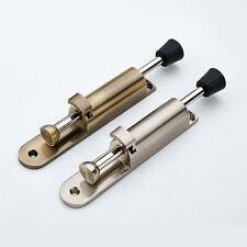 Door Stop Kick Down Door Holder Rubber Buffer Door Mounted Stopper Bronze/Silver