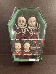 Living Dead Dolls Hazel And Hattie factory sealed.