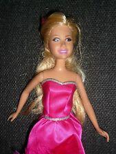Sharpay Skipper tamaño HSM Muñeca ~ con original vestido de color de rosa caliente ~ Sin Zapatos