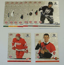 2003 Pacific Calder Collection NHL All-Star Game Rookie Silver Set (10)