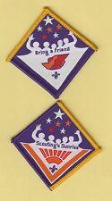 Boy Scout Badges BRING a FRIEND + SCOUTING`S SUNRISE