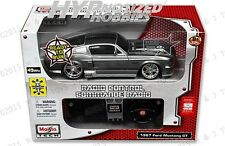 MAISTO 1:24 RADIO CONTROL 1967 FORD MUSTANG GT GRAY 81061RTR-GRY