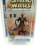 Hasbro Star Wars MACE Windu Action Figure Clone Wars 2003 Sealed