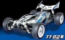 Tamiya 58630 1/10 RC 4WD Buggy TT-02B Chassis Plasma Edge II w/ESC+Torque Motor
