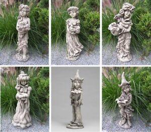 LICHTERKIND Zauberblume Vidroflor Steinfigur Steinguss Blume Lichterfee Teelicht