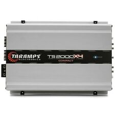 Taramp's TS-2000x4 2000w 2ohm New! Authorized Distributor